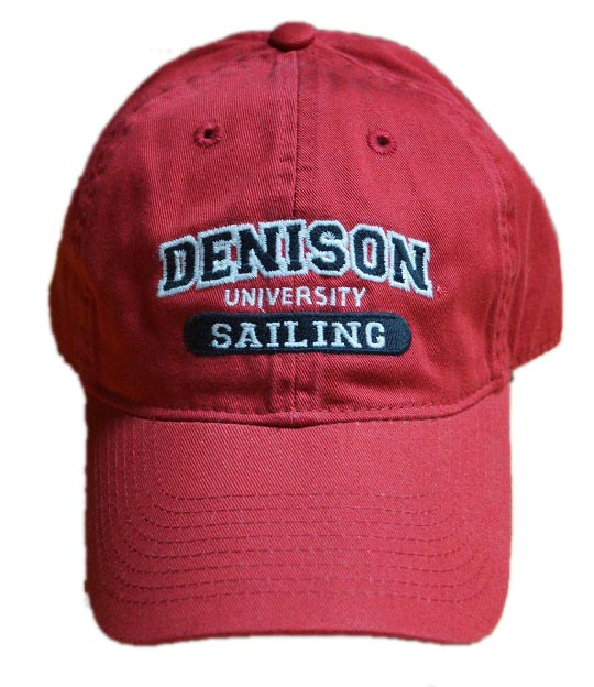 Denison Legacy Classic Sailing Hat Red 6bdc2145984d