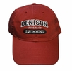 Denison Legacy Classic Swimming Hat Red