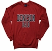 Denison MV Dad Comfort Fleece Crew Red