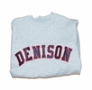 Denison MV Embroidered Crew Grey