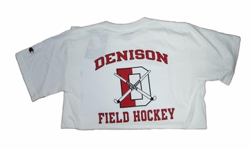 Denison Champion Field Hockey Tee White