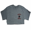 Denison Champion Football Tee Grey