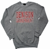 Denison MV Grandparent Comfort Fleece Crew Gray