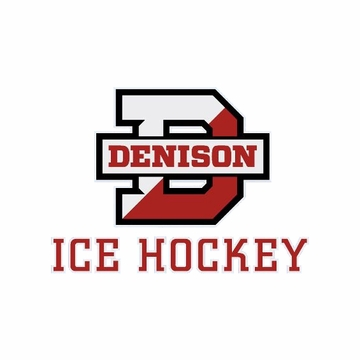 Denison Ice Hockey Decal