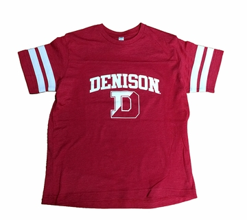 Denison Youth Game Shirt Retro Red