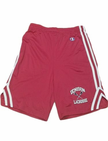 Denison Champion Lacrosse Red Attack Short XXL