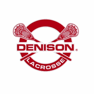Denison Lacrosse Circle Car Decal