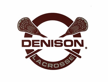 Denison Lacrosse Car Decal