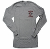 Denison Champion Lacrosse Long Sleeve Shirt Grey