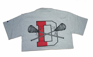 Denison Champion Lacrosse Short Sleeve Tee Grey