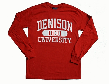 Denison MV Long Sleeve 1831 T Red
