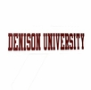Denison Long Window Sticker