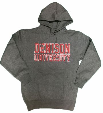Denison MV Classic Fleece Hoodie Graphite