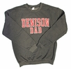 Denison MV Dad Crew Sweatshirt Charcoal