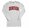 Denison MV Long Sleeve T White
