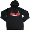 Denison Nike Big Red Pullover Hoodie Black