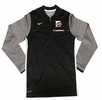 Denison Nike Coach 1/2 Zip Top Black/ White