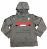 Denison Nike Kids Therma Pullover Hoody Dark Heather