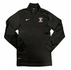 Denison Nike Lacrosse DriFit 1/4 Zip Top Black