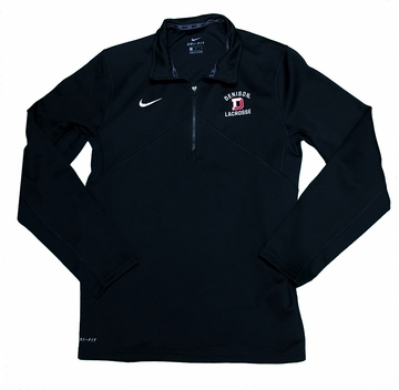 Denison Nike Lacrosse Training 1/2 Zip Black
