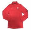 Denison Nike Lacrosse Training 1/2 Zip Red
