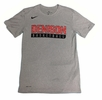 Denison Nike Legend Short Sleeve Basketball Tee Dark Heather