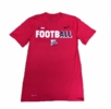 Denison Nike Legend Short Sleeve Football Tee Red