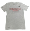 Denison Nike Legend Short Sleeve Soccer Tee Dark Heather
