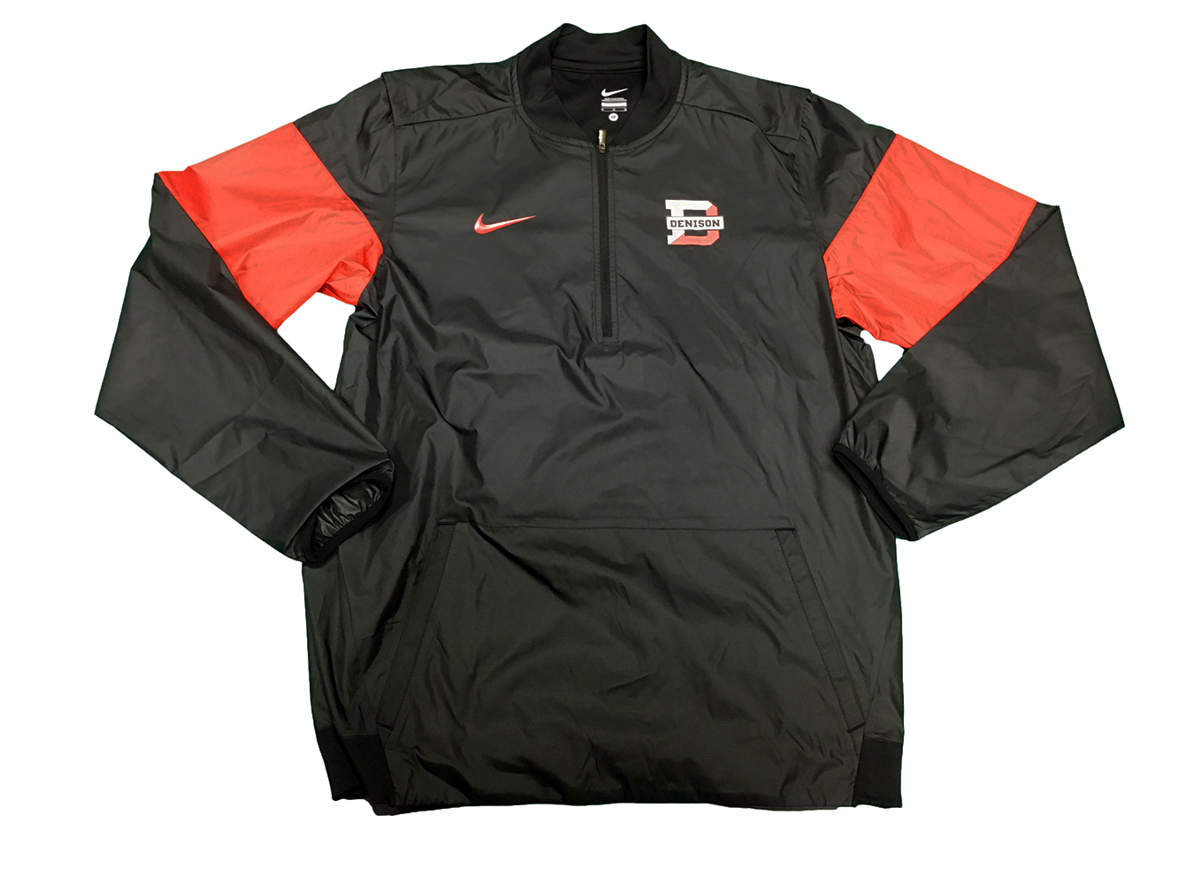 6ede01011649 Denison Nike Lockdown HZ Jacket Black  Red