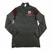 Denison Nike Sideline Edition Coach 1/2 Zip Black/ Red