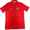 Denison Nike Sideline Edition Early Season Polo Red/ White