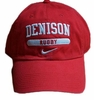 Denison Nike Sports Red Hat Rugby