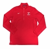 Denison Nike Swimming Training 1/2 Zip Red