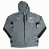 Denison Nike Thermafit FullZip Fleece Dark Heather