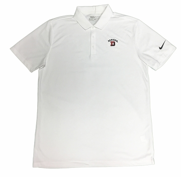 Denison Nike Victory Solid Polo White