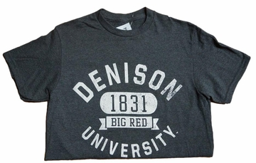 Denison MV Retro Heathered Tees Charcoal