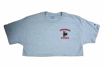 Denison Champion Rugby Tee Oxford Grey