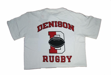 Denison Champion Rugby Tee White