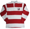 Denison Barbarian Rugby Wear Classic Polo White/ Red