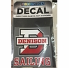 Denison Sailing Car Decal