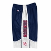Denison Side Writing Shorts Navy/ White Stripe