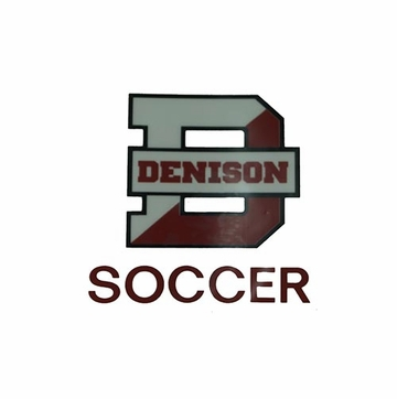 Denison Soccer Car Decal