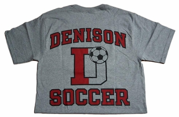 Denison Champion Soccer Tee Grey
