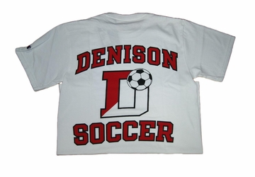 Denison Champion Soccer Tee White
