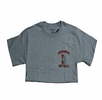 Denison Champion Softball Tee Grey