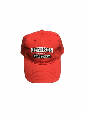 Denison Legacy Sports Hat Field Hockey Red