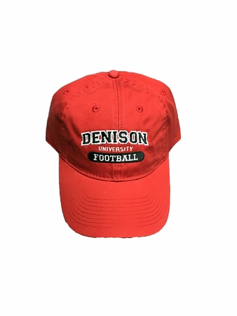 Denison Legacy Sports Hat Football Red