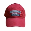 Denison Legacy Sports Hat Track & Field Red