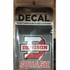 Denison Squash Decal