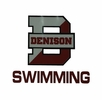 Denison Swimming Car Decal